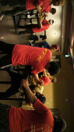 アームレスリング(腕相撲)チームに行って来ました